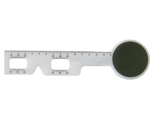 PD Ruler with Occluder